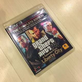 Grand Theft Auto 4 Complete Edition For PS3