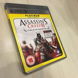 Assassin's Creed 2 GOTY Edition for PS3