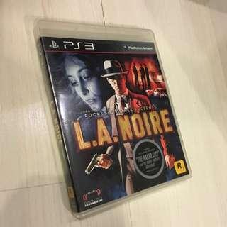 LA Noire for PS3