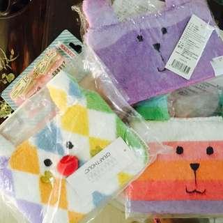 Craftholic •⑅• 大容量化妝包 宇宙人 筆袋 全家 漸層兔兔子 馬戲團小丑兔兔 收納袋 手機包零錢袋