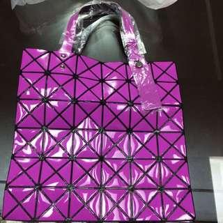 Bao Bao同款菱格包 紫色 全新