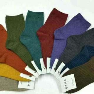 👑素色 韓國 襪子👑