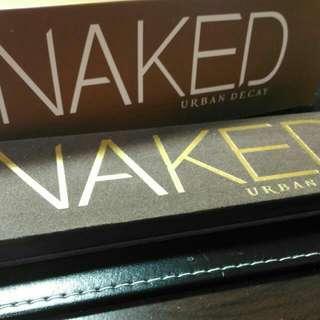 保留【全新】Naked Urban Decay 1 一代 12色眼影盤  附眼影刷 冷調大地色 聖誕節 交換禮物