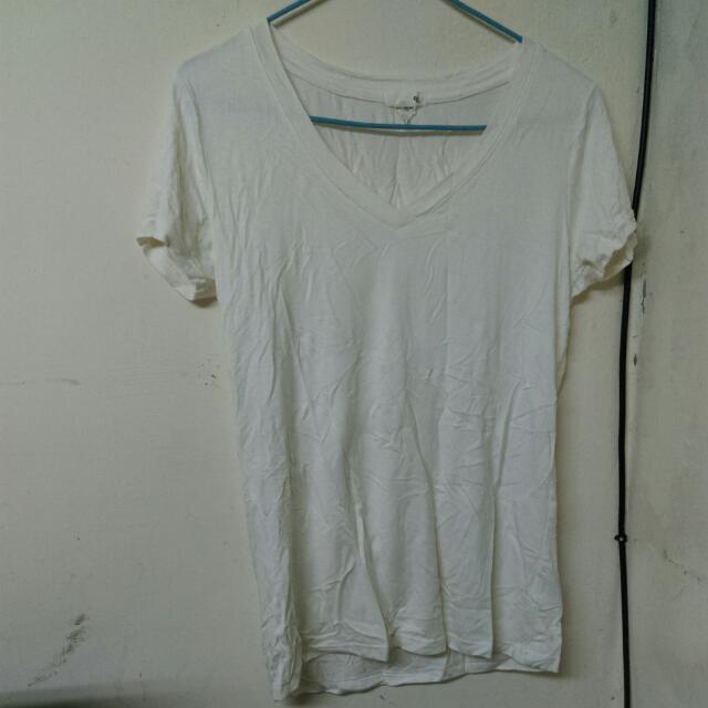 50%米白色短袖