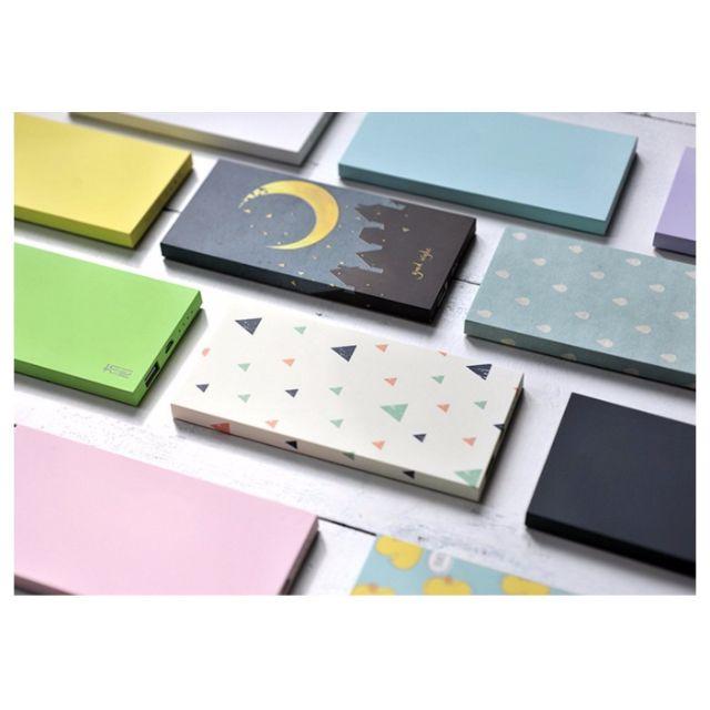 《獨家新款》清新文藝系列 精緻禮盒包裝10000mAh行動電源