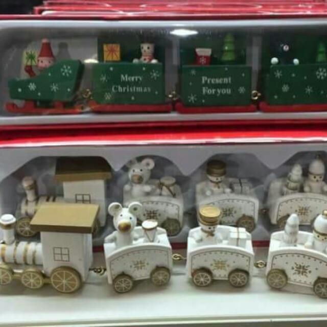 日本帶回聖誕小火車