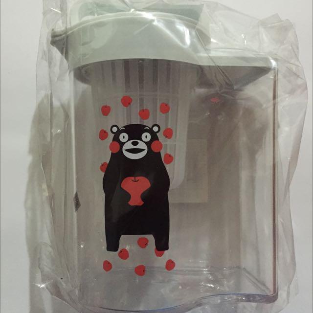 (全新)熊本熊透明冷水壺