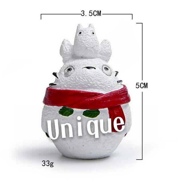 聖誕節 交換禮物 龍貓 無臉男 小煤炭 小黑球 擺飾
