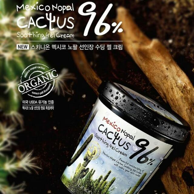 韓國 Skinion 96% 墨西哥仙人掌 水循環活氧保濕膠 (300ml) 另有 蘆薈膠 欣蘭 寶藝