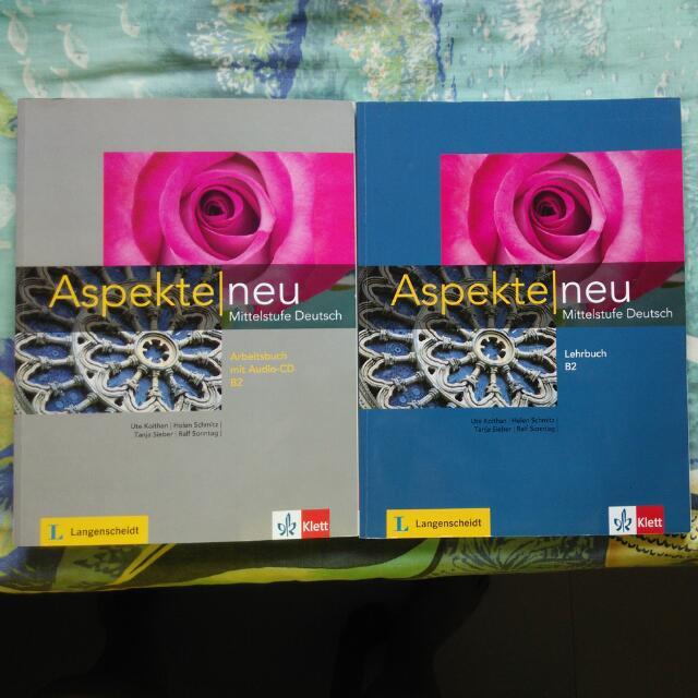 Aspekte Neu B2 Books Stationery On Carousell