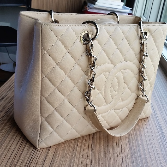 a8d7dac504fc Christmas Chanel Grand Shopping Tote (GST) on sale. Reduce price for ...