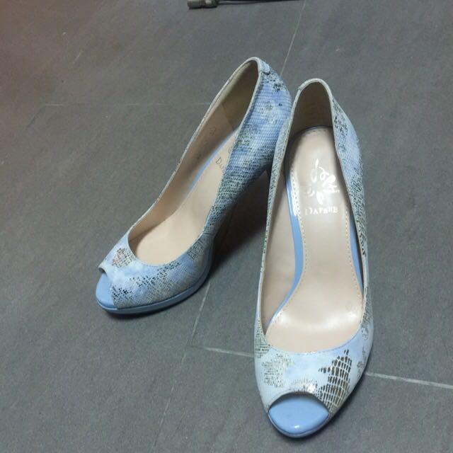 Daphne 達芙妮 魚口跟鞋  22號(絕版商品)