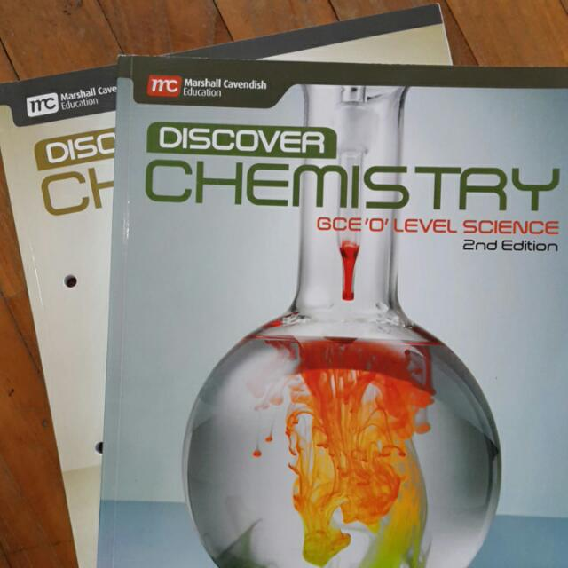 Discover Chemistry 2nd Edition TB And WB Set