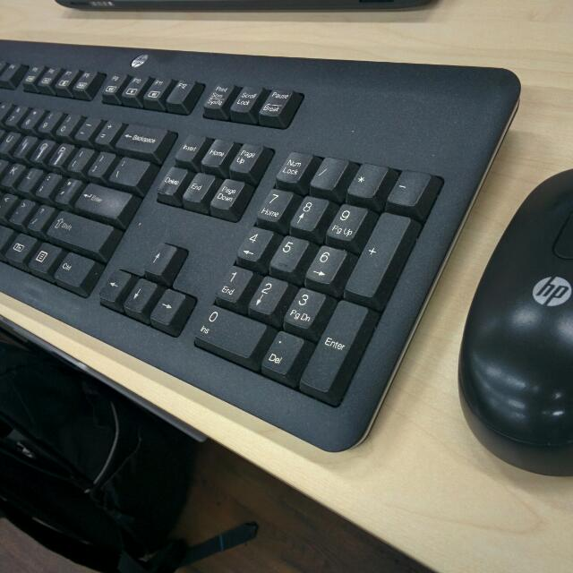 Good Working Condition HP Wireless Keyboard