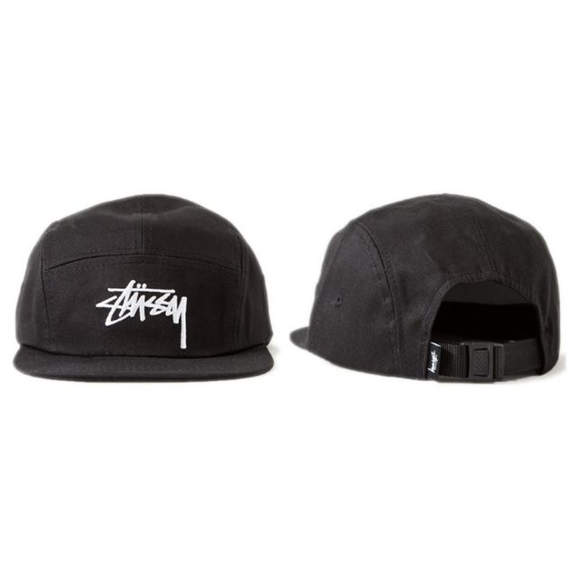 Instock Stussy Camp Cap Hat Caps Hats Military 5 Panel with Adjustable  Strap af58916cb93