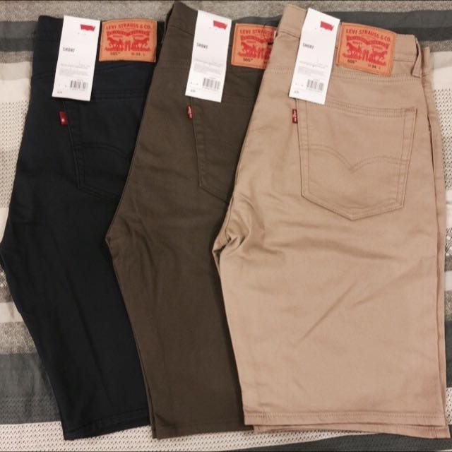 Levi's Levis 505 W32 W34 短褲 僅剩棕色(咖啡)全新未穿