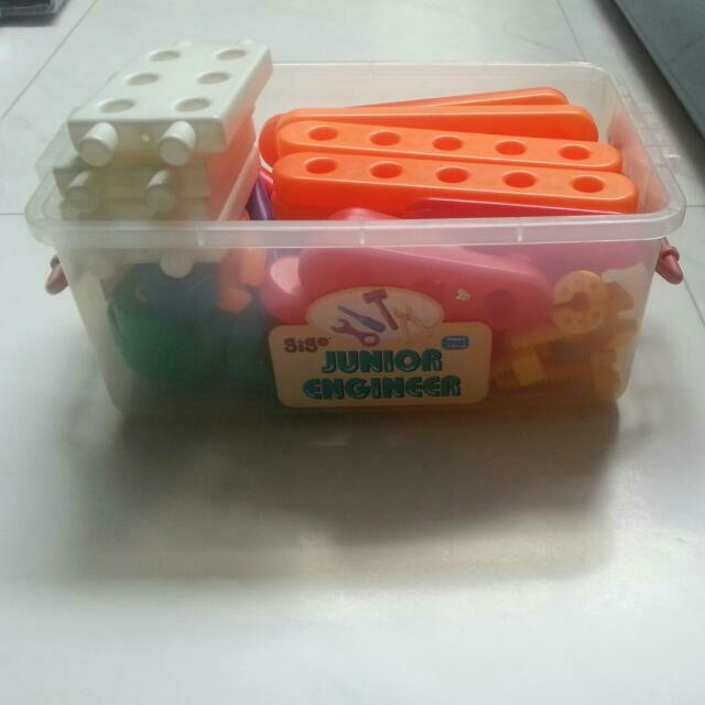 SALE! Junior Engineer Set Bought From Growing Fun