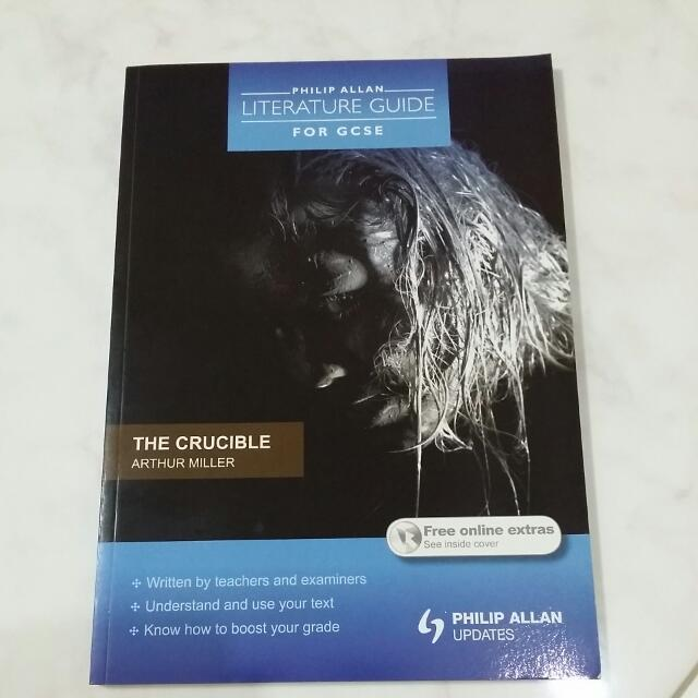 The Crucible Literature Guide Textbooks On Carousell