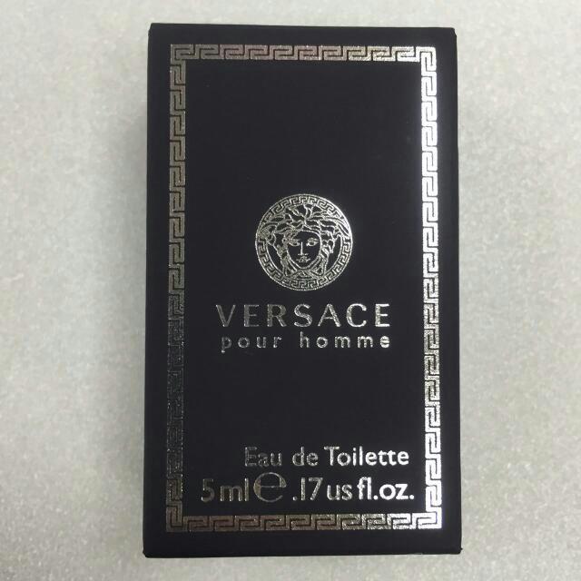 Versace Pour Homme 凡賽斯經典 (男香)5ml