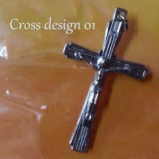 Cross for Rosary Necklace