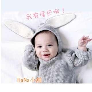 爆款秋冬 兔子耳朵毛衣 針織衫