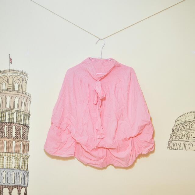 $150含運《粉紅色兩穿裙》