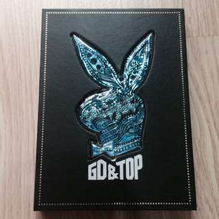 BIGBANG GD & TOP - The First Album CD DELUXE BOX
