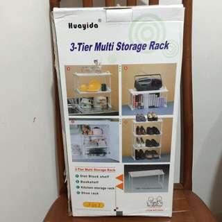 BNIB 3-Tier Multi Storage Rack