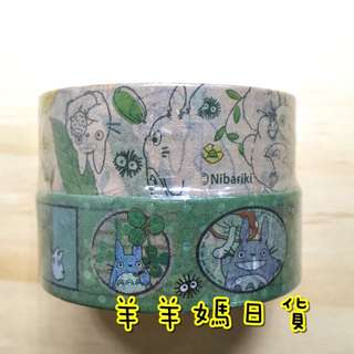 日本進口 吉卜力 宮崎駿 紙膠帶2捲入組 龍貓系列-和柄【羊羊媽日貨♥】