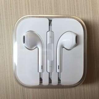 原廠 iPhone 耳機 (全新)