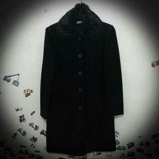 ⛄黑色長版大衣⛄