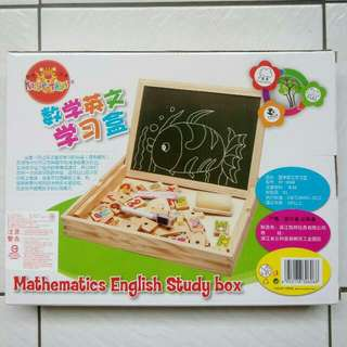 數學英文木頭學習組