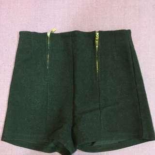 全新❤️黑色高腰短褲