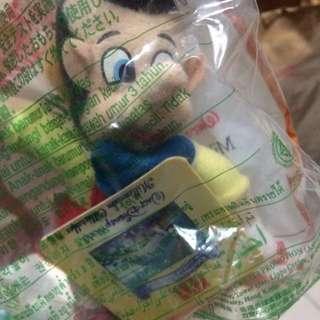 迪士尼小木偶 玩偶全新未拆