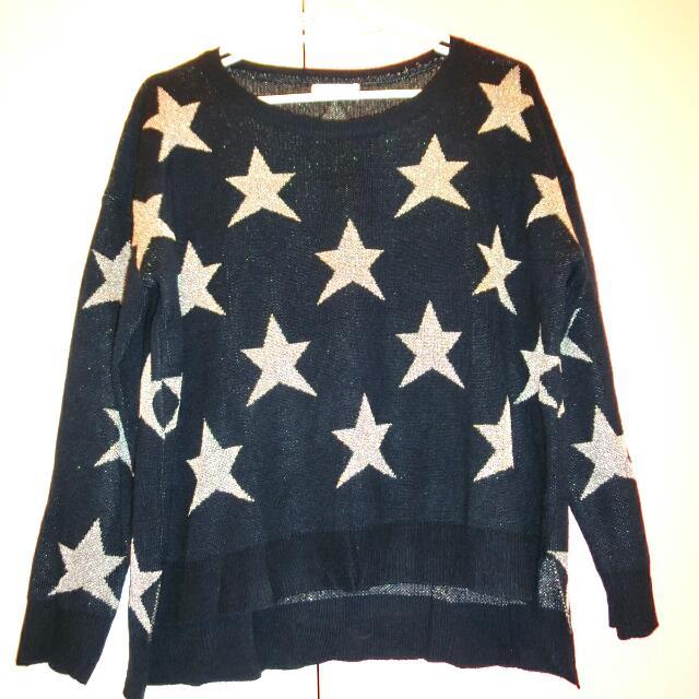 滿版星星針織衫