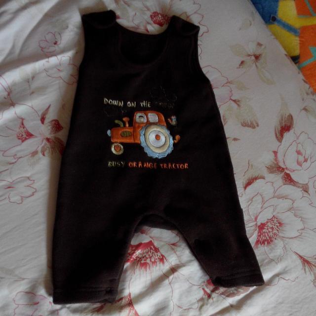 寶寶保暖吊帶褲