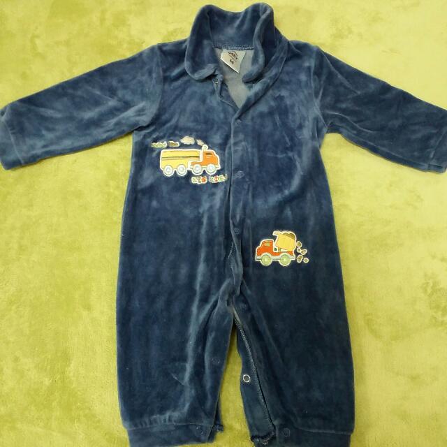 寶寶冬季連身衣