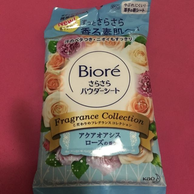 日本全新 花香濕紙巾