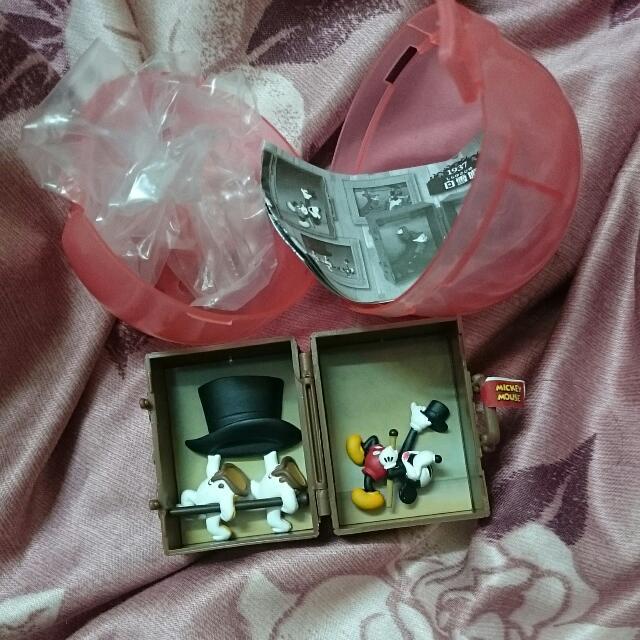 迪士尼 行李 蛋玩 米奇