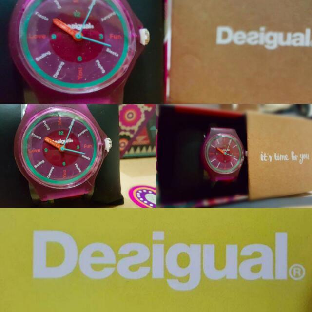 限量 西班牙品牌desigual 女錶