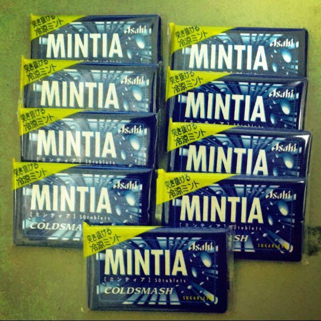 待匯款中🔻大降價 👍日本原裝 Mintia 口含錠