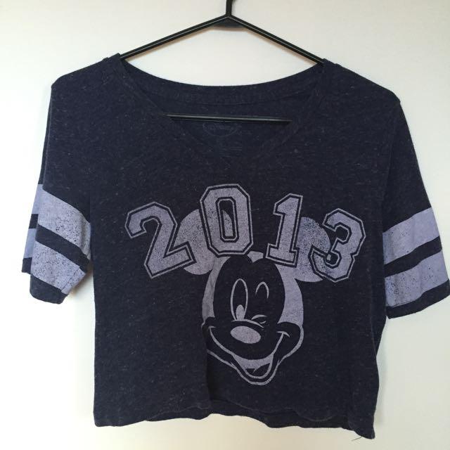 Cropped Disney T Shirt