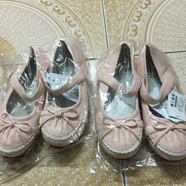 Kids 粉紅娃娃鞋 原價$890