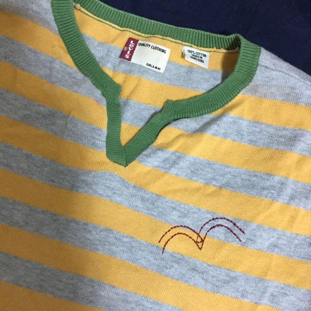 Levis 針織條紋衫