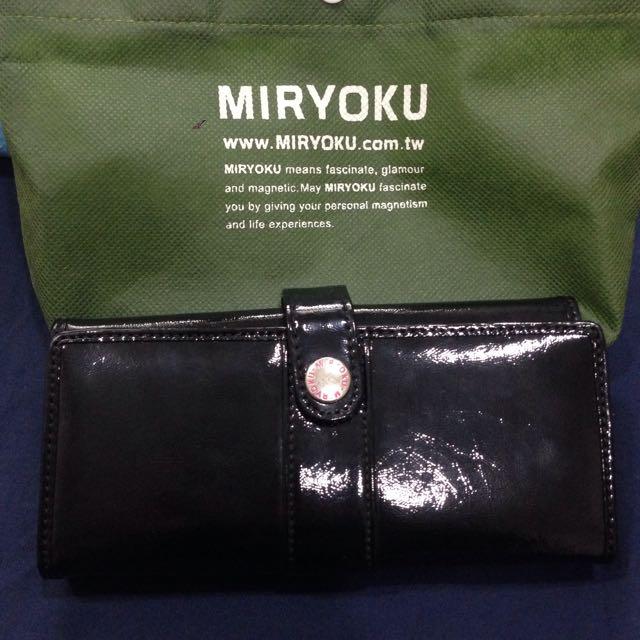 Miryoku 黑色 長夾