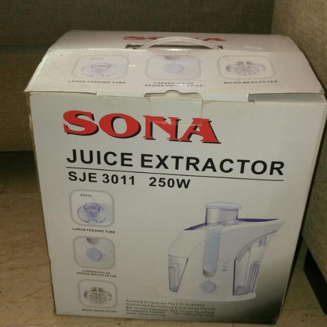 SONA Juice Extractor