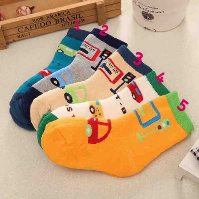 Traffic Light Socks For Boys