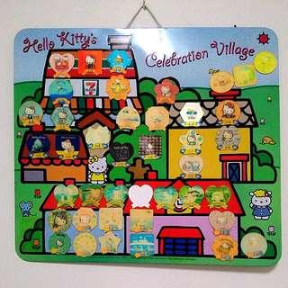 Hello Kitty磁鐵蒐集板