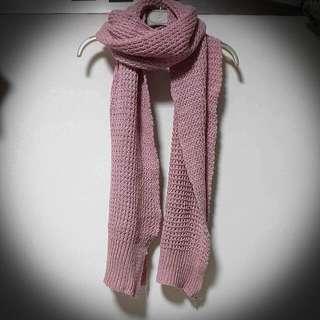 💯閃閃金蔥厚織圍巾
