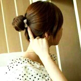 🎀珍珠小蝴蝶結髮圈🎀